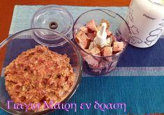 Κεφτεδάκια με Σύγκλινο Μάνης σε σάλτσα τυριών - Γιαγιά Μαίρη Εν Δράσει Cereal, Breakfast, Food, Morning Coffee, Eten, Meals, Corn Flakes, Morning Breakfast, Breakfast Cereal