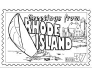 USA-Printables: State of Rhode Island Coloring Pages - Rhode Island tradition and culture coloring pages