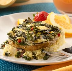 Recipe : Country Style Breakfast Bake with Swiss Chard and al fresco ...