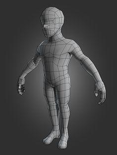 Character Modeling in Blender
