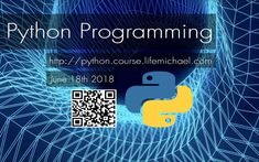 On June 18th we will start our new Python  course. 90 academic hours in 18 meetings.More information at https://loom.ly/ow6ZyiU