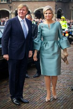 King Willem-Alexander and Queen Maxima of The Netherlands attend the celebration in the Ridderzaal of 200 years Kingdom of The Netherlands in The Hague, 30.11.13.