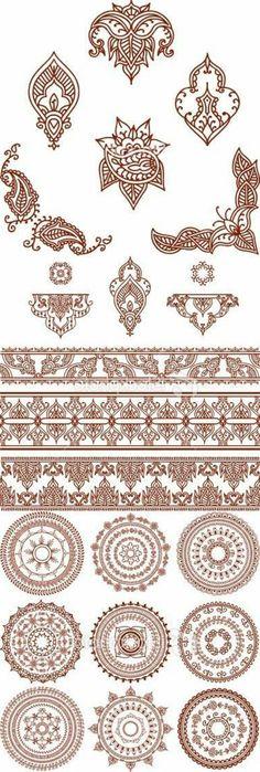 henna tattoo uralte kunst zur temporren hautverzierung mit pflanzenfarbe archzinenet - Muster Huser