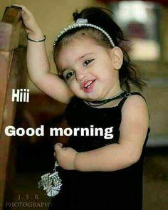 Good Morning Baby Girl Image Archidev