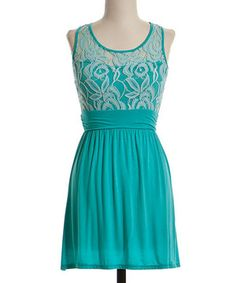 Another great find on #zulily! Jade Lace-Bodice Dress - Women by Coveted Clothing #zulilyfinds