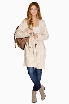 Beulah Crossing Cables Cardigan