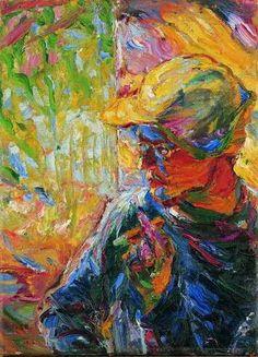 Emil Nolde, Portrait du peintre Schmidt-Rottluff