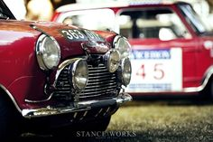 Stance Works - The History of the Works Mini Coopers