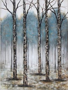 Just Beyond Those Trees On Wood 48x36 Original Art, Trees, The Originals, Wood, Collection, Woodwind Instrument, Tree Structure, Timber Wood, Wood Planks