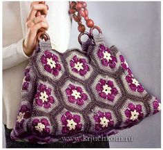 Crochet bag + Diagrams