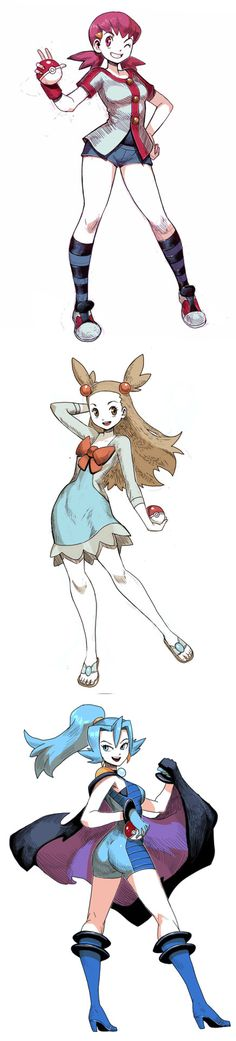 Pokemon silver and gold female gym leaders