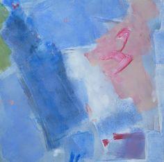 carré abstrait peint à l'acrylique sur toile par Marine Assoumov artiste