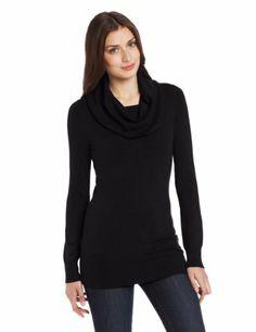 Similar black cowl neck sweater