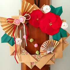 panda🐼さん(@panda__y8) • Instagram写真と動画 Chinese New Year Decorations, New Years Decorations, Origami, Diy And Crafts, Paper Crafts, Mother And Child, Paper Flowers, Gift Wrapping, Handmade