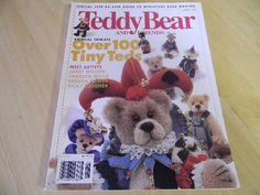 Teddy Bear and Friends Magazine, June 1998. $2,50, via Etsy.