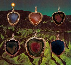 serious lust and obsession here--loving the watermelon tourmaline one  sigh . . .