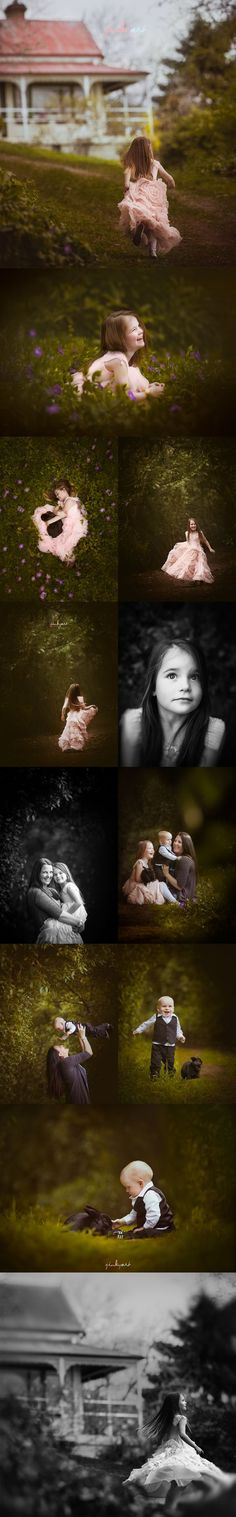 Not all outdoor child sessions has to be light and airy. Sometimes the darker mood captured the spirit of the child perfectly.