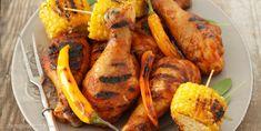 Glazurowane udka z grilla Vegan Ramen, Ramen Noodles, Recipe Images, Tandoori Chicken, Grilling, Ethnic Recipes, Food, Crickets, Essen
