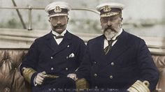 Edward VII & Wilhelm II, Kaiser of Germany
