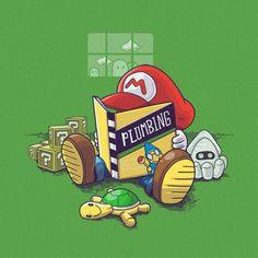 Une sélection de 16 illustrations pleines de références geek et d'humour, de Mario à Zelda en passant par Harry Potter et Arrested Development, réalisées
