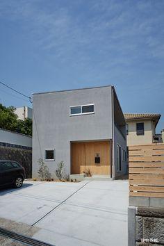 「坂道に建つ家」|建築作品|ギャラリー|toki Architect design office - 土岐建築デザイン事務所