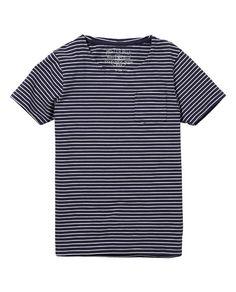 Basic T-shirt met ronde hals
