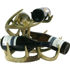 Deer Antler Wine Rack