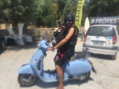 Madi is ready for Kiting 🐶 🏄 🌊  #naxoskitesurf #beachlife #naxosglyfada Europe News, Playground, Gym Equipment, Bike, Club, Beach, Sports, Kitesurfing, Children Playground