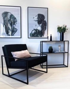 Wohnzimmer - My Dream Home - Phone Cases Home Living Room, Interior Design Living Room, Living Room Designs, Living Room Decor, Bedroom Decor, Interior Livingroom, House Design, Wall Design, Home Decor