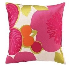 OFF Trina Turk Multi Floral Embroidered Pillow (Pink) Purple Pillows, Floral Throw Pillows, Decorative Pillows, Decorative Mirrors, Custom Pillows, Chandeliers, Pink Home Accessories, Interior Accessories, Decorative Accessories