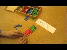 Bluffview Montessori School: Teaching Math Using the Stamp Game - YouTube