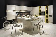Dizajnové kuchyne Kitchen Design, Table, Furniture, Home Decor, Home, Homes, Linz, Decoration Home, Design Of Kitchen