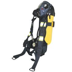 SIGMA II Self Contained Breathing Apparatus - Breathing Apparatus and Escape Sets from ADEC Marine who sell and hire a complete range of Marine Safety Equipment. Firefighting, Golf Bags, Breathe, Video Game, Safety, Range, Videos, Security Guard, Cookers