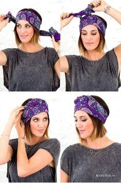 Ten new, superb ways totie your scarf