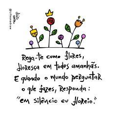 Rega-te como flores