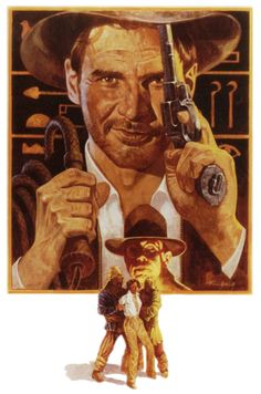 'Raiders of the Lost Ark' Key Art, by Tom Jung ~ 1981