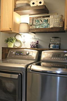 LG high capacity washer and dryer
