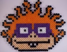 Easy Perler Bead Patterns, Melty Bead Patterns, Perler Bead Templates, Diy Perler Beads, Beading Patterns, Pearler Beads, Perler Bead Mario, Perler Bead Disney, Pearl Beads Pattern