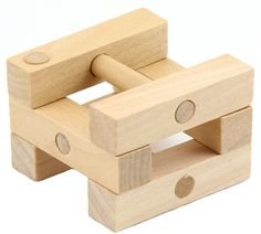 Kong Ming bloqueo de madera rompecabezas Puzzle juego para adultos niños