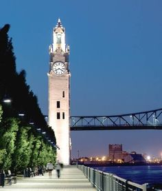 Clock Tower Old Port Montreal Old Port, Saint Laurent, Montreal, Tower, Clock, Building, Attraction, Photography, Travel