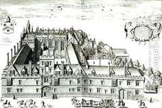 All Souls College, 1675 via Deborah Harkness