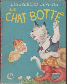 Le Chat Botté. Les albums animés J. Barbe 1948. l