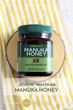 Manuka honey with a UMF rating of 16 or higher possesses therapeutic levels of antibacterial agents. (Simply put, this is not a honey you would want to consume very much of in one sitting.) However, it does make an excellent addition to any medicine cabinet!
