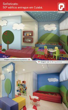 Brinquedoteca / Terreo Decorado / Kids / Playroom / Interior Design / Bohrer Arquitetura / Londrina / Brazil