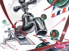 건국대 기초디자인 홍대미술학원 디자인쏘울 Retro Graphic Design, Ap Studio Art, Composition Design, 2d Design, Shape And Form, Art Studios, Art Sketches, Shapes, Watercolor
