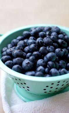 I LOVE melted blueberries with ginger and madarin orange. It's bursting with flavor, yet perfectly simple for summer. thesproutingseed.com