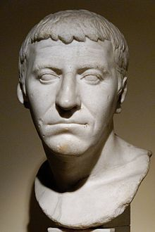 Gnaeus Domitius Corbulo (c. 7 – 67 AD) was a Roman general, brother-in-law of the emperor Caligula and father-in-law of Domitian.