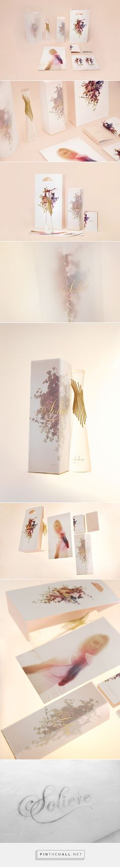 La marca de perfume Soliere en Behance