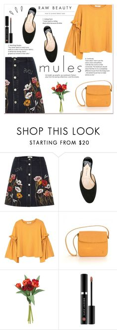 """""""Mules"""" by ladydzsen on Polyvore featuring River Island, Paul Andrew, MANGO, Old Navy, Louis Vuitton and mules"""