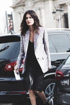 trail blazer. Leila in Paris. #LeilaYavari